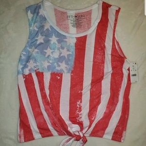 Fifth Sun Woman's Patriotic Tank 2XL (K)